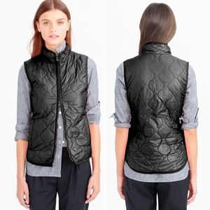J. Crew Layering Vest with Primaloft Black